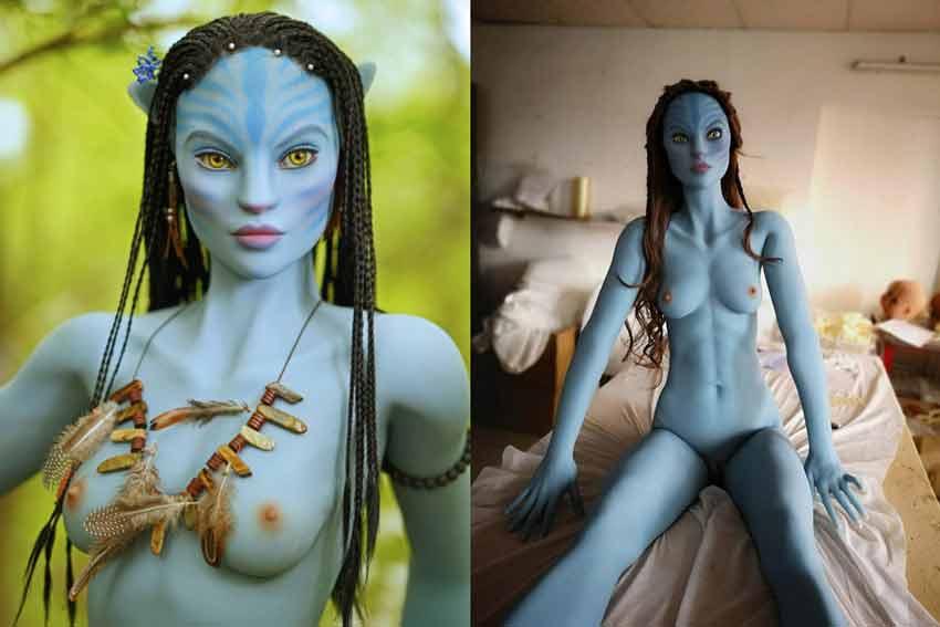 alien sex doll Neytiri