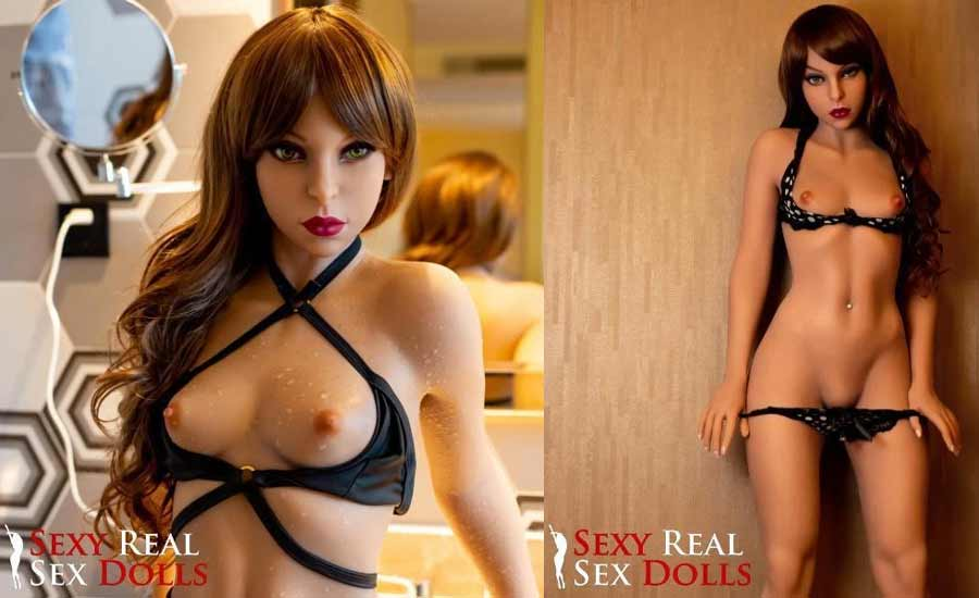 Lilith a flat breasted sex doll