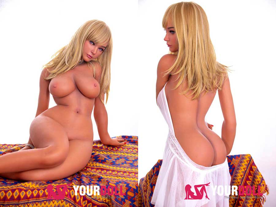 lotte blonde moaning sex doll