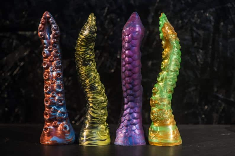 custom octopus dildo