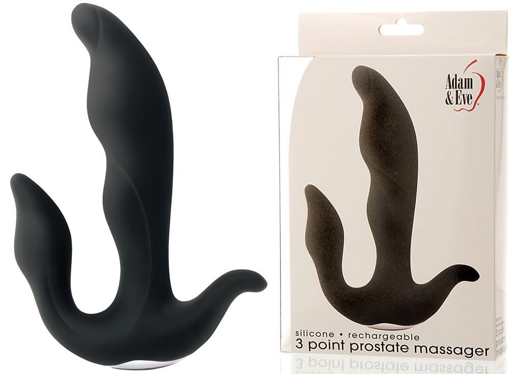 Adam and Eve prostate massager