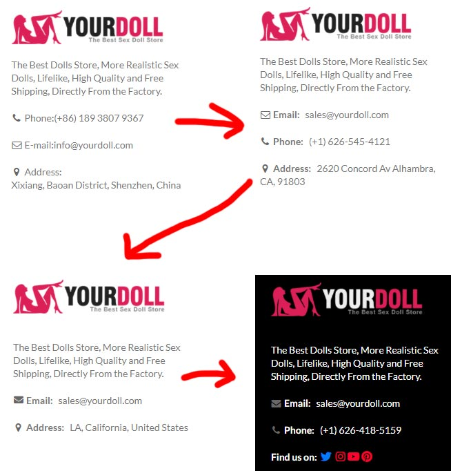 yourdoll contact information