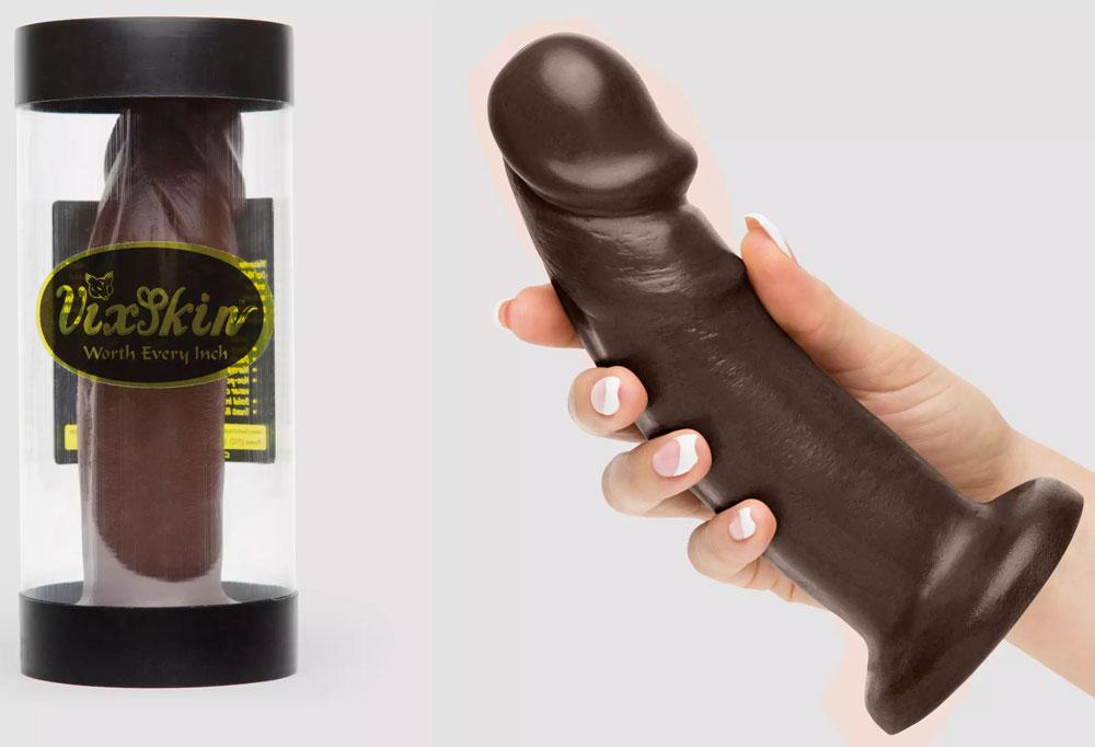 Vixskin realistic brown dildo